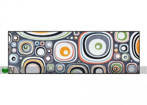Matto BUBBLES 60x180 cm A5-75113