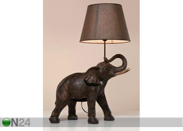 Pöytävalaisin ELEPHANT SAFARI QA-75387