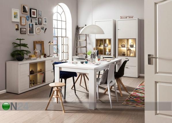 Jatkettava ruokapöytä TIO AND YOU 90x160 cm SM-75906