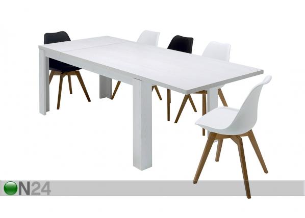 Jatkettava ruokapöytä TIO AND YOU 90x180/230 cm SM-75907