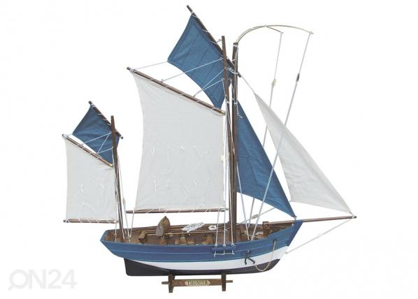 Purjelaivan pienoismalli THONIER WR-75956
