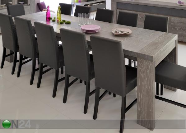 Jatkettava ruokapöytä BRISTOL 90x190-280 cm MA-76445