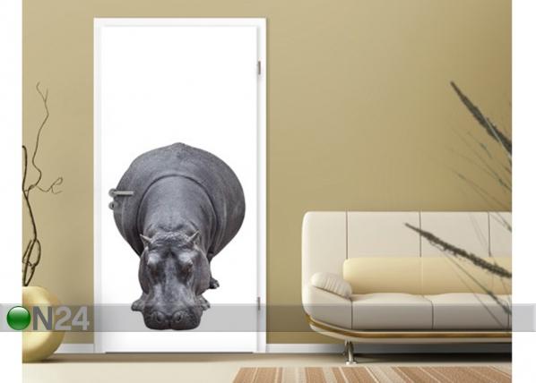 Kuvatapetti BIG HIPPO 100x210 cm ED-76669