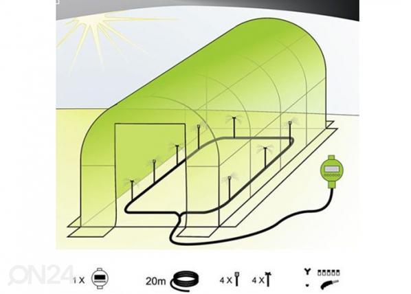 Kasvihuoneen automaattinen kastelujärjestelmä PO-76782