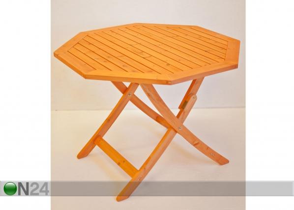 Kokoontaitettava puutarhapöytä VINCI SI-77559