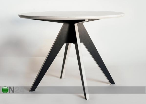 Ruokapöytä EDI Ø 125 cm RB-78171