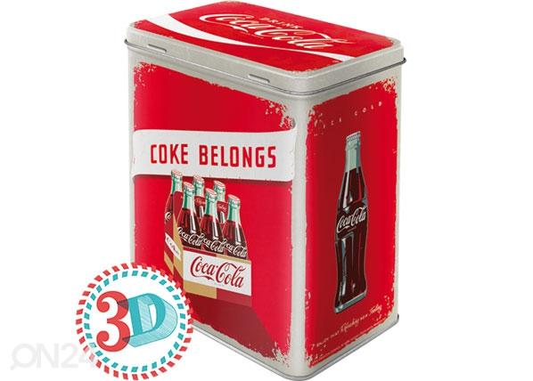 Peltipurkki COCA-COLA COKE BELONGS 3 L SG-78409
