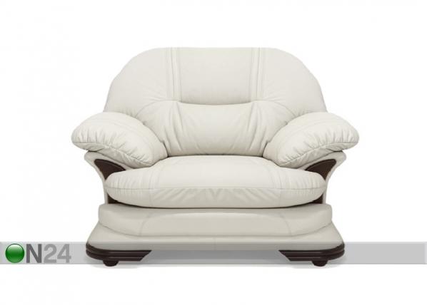 Ylellinen nahkainen nojatuoli REDFORD TP-78776