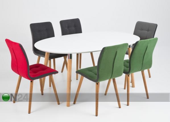 Ruokapöytä BELINA 100x170 cm CM-79666