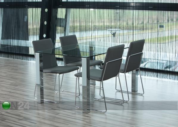 Ruokapöytä KANTE 90x140 cm CM-79680