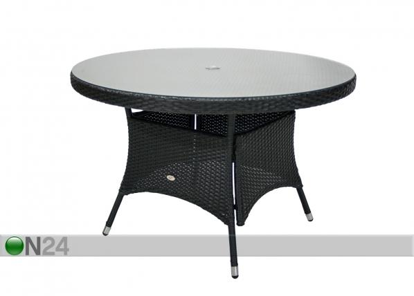 Puutarhapöytä WICKER EV-79888