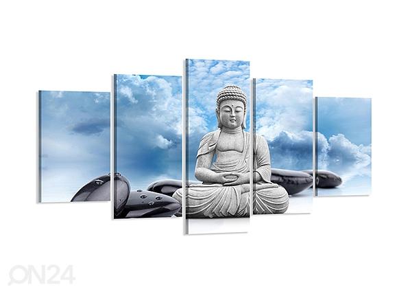 Viisiosainen seinätaulu BUDDHA 200x100 cm ED-80888