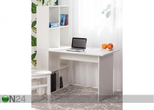 Työpöytä hyllystöllä EC-81264