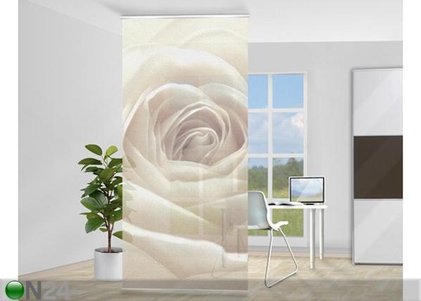 Paneeliverho PRETTY WHITE ROSE V ED-81350