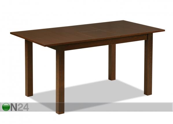 Jatkettava ruokapöytä TRENTO 80x120-150 cm GO-81471