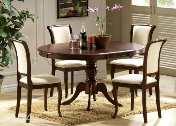 Jatkettava ruokapöytä OLIVIA 106x106-141 cm WS-82688