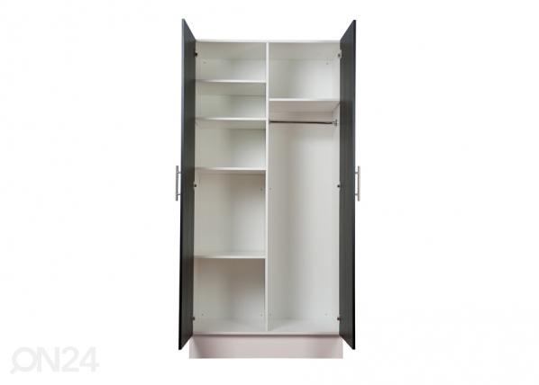 EAZY 208x100 cm väliseinä+ 4 hyllyä HP-83127