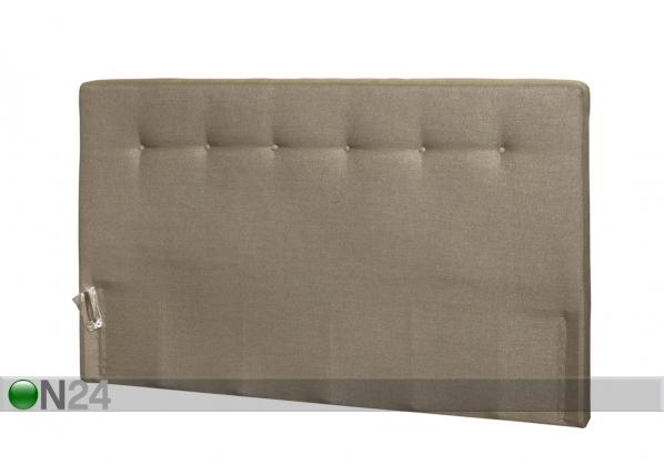 Kangasverhoiltu sängynpääty napeilla FR-83190