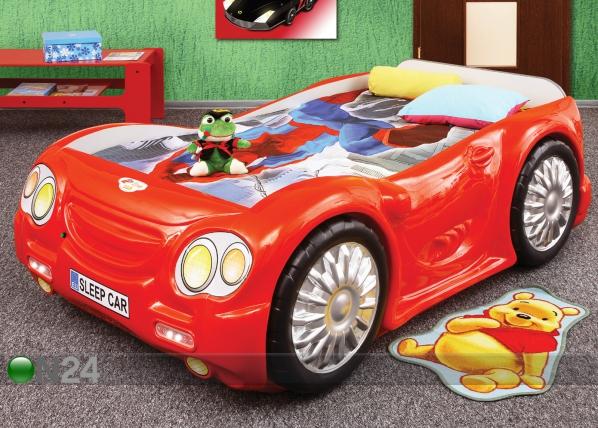 Lasten sänkysarja CAR 90x180 cm TF-83378