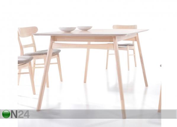 Ruokapöytä VIOLET 90x150 cm EV-83955