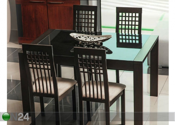 Jatkettava ruokapöytä SOLANO 90x135-180 cm WS-84059