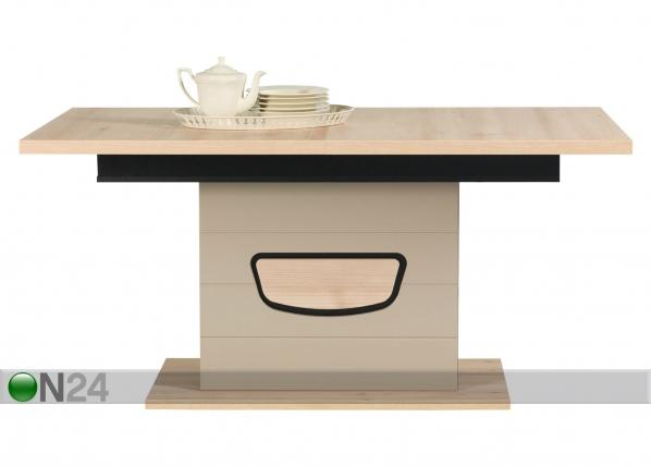 Jatkettava ruokapöytä 90x160-200 cm TF-84251