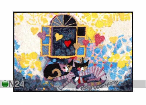 Matto FLYING HEARTS 50x75 cm A5-84290