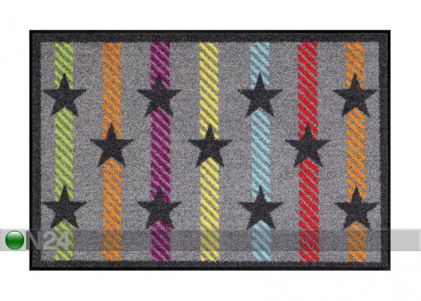 Matto STARS ON STRIPES 50x75 cm A5-84306