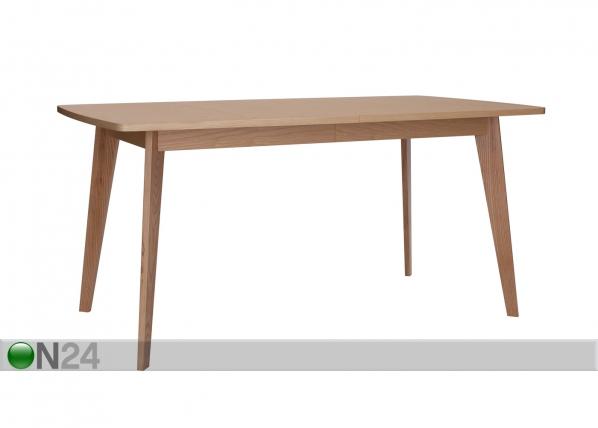 Jatkettava ruokapöytä KENSAL DINING TABLE EXTENDING 90x160-200 cm WO-84321