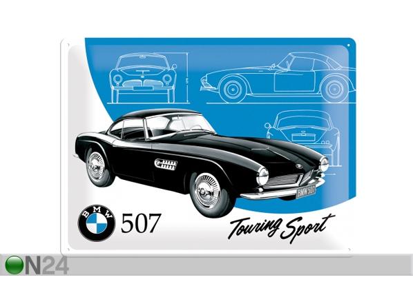 Retro metallijuliste BMW 507 TOURING SPORT 30x40 cm SG-84352