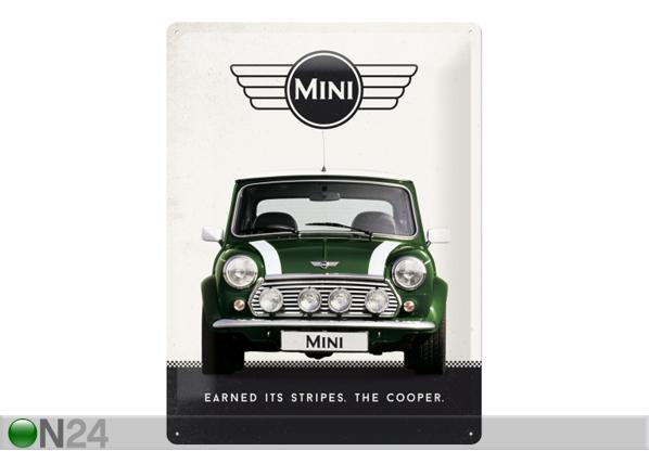 Retro metallijuliste MINI COOPER 30x40 cm SG-84355