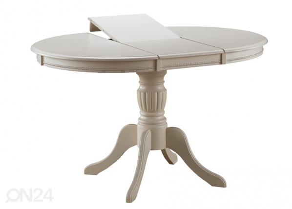 Jatkettava ruokapöytä OLIVIA 106x106-141 cm WS-84396