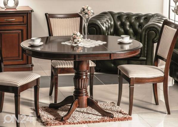 Jatkettava ruokapöytä MARGO 90x90-125 cm WS-84403