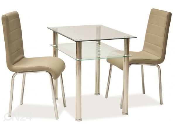 Ruokapöytä PIXEL 60x80 cm WS-84620