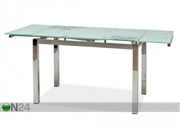 Jatkettava ruokapöytä 74x110-170 cm WS-84656