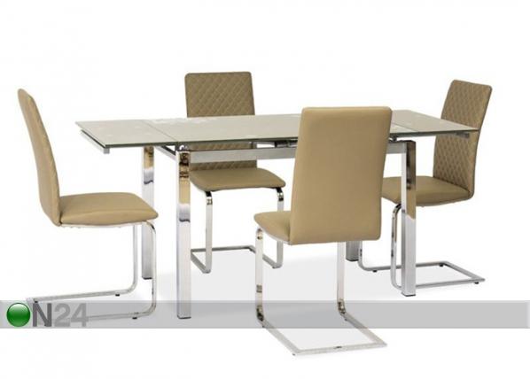 Jatkettava ruokapöytä 80x120-180 cm WS-84683