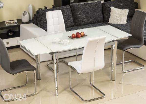 Jatkettava ruokapöytä 80x120-180 cm WS-84684