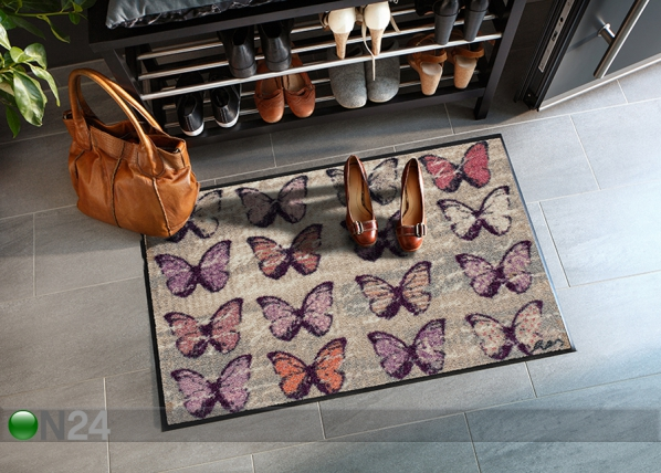 Matto COLORFUL BUTTERFLIES 50x75 cm A5-84719