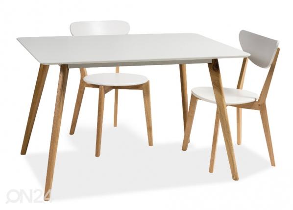 Ruokapöytä MILAN 80x120 cm WS-85016