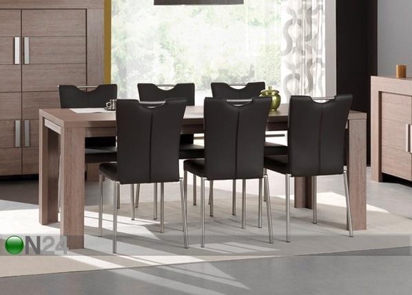 Ruokapöytä ALDIS 95x200 cm MA-85072