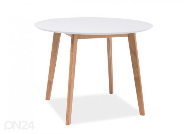 Ruokapöytä MOSSO II Ø 100 cm WS-85208