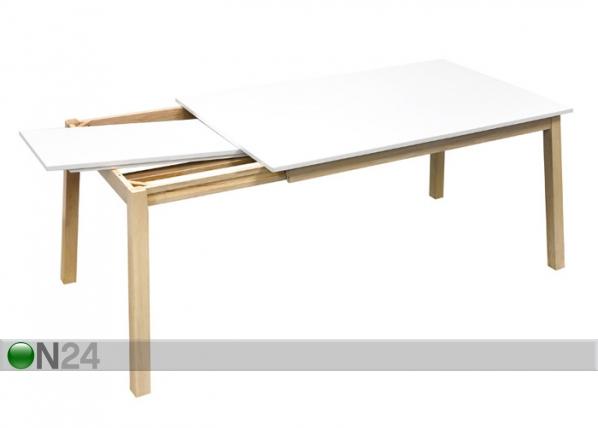 Jatkettava ruokapöytä NARVIK 90x140-180 cm WS-85262