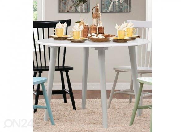 Ruokapöytä SOMMARSTAD Ø 107 cm BL-85376