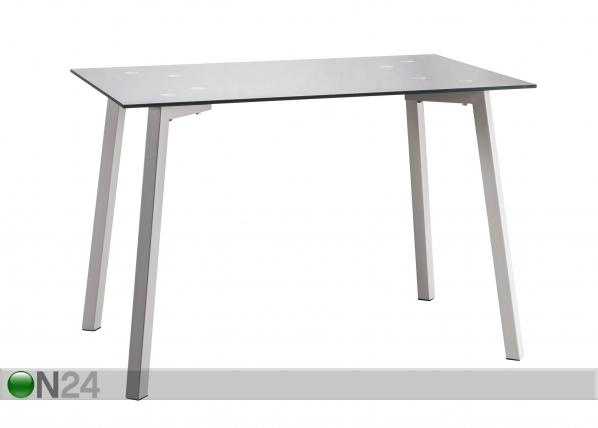 Ruokapöytä NEW LUNA 70x110 cm CM-85410