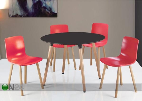 Ruokapöytä VILLAS Ø 100 cm BL-85473