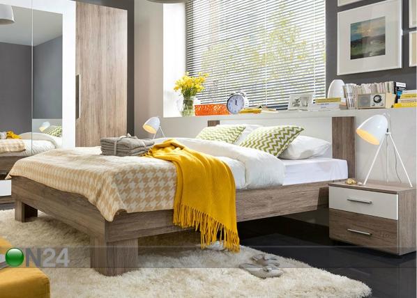 Sänky 160x200 cm + 2 yöpöytää TF-85516