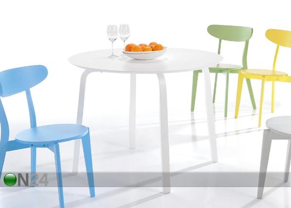 Ruokapöytä RAFAEL Ø 100 cm WS-85901