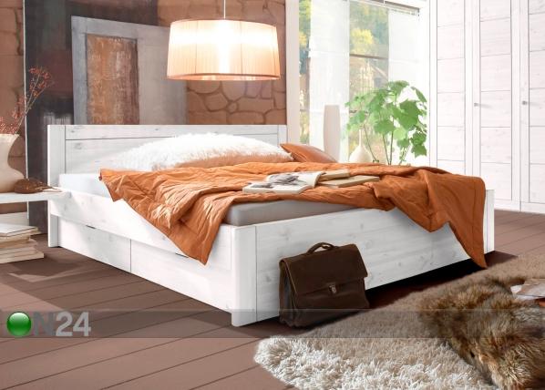Sänkysarja RAUNA, mänty 160x200 cm PI-85931