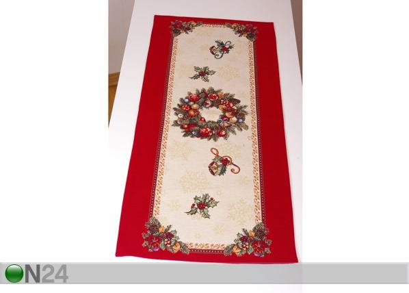 Gobeliinikangas joululiina FIDELITY 45x140 cm TG-86636