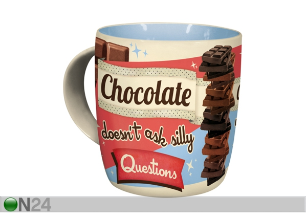 Muki CHOCOLATE DOESN´T ASK SILLY QUESTIONS SG-87085